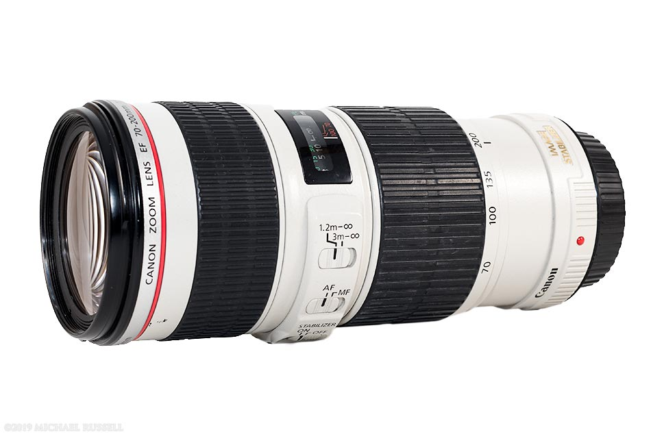 review of the Canon EF 70-200mm f/4L IS USM Lens