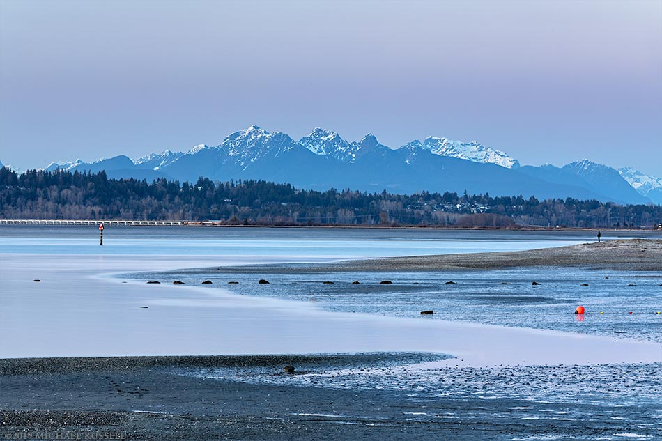 blackie spit and the golden ears mountains