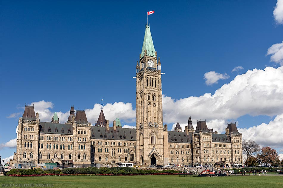 canadian parliament buildings in ottawa canada